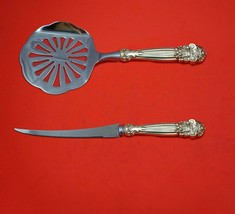 Georgian by Towle Sterling Silver Tomato Serving Set 2pc Custom Made - $129.00