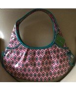 Vera Bradley Tied Together Frill Hobo Bag Purse in Call Me Coral NWT - $29.69