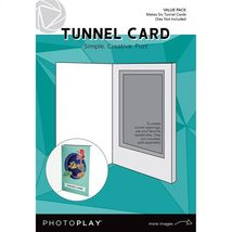 Tunnel Card Kit: REFILL Value Pack. Makes Six. Dies Not Inlcuded - $6.95