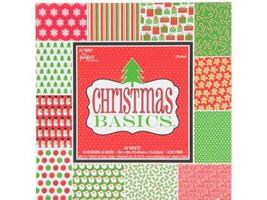 "Christmas Basics-48 Sheets 6""x6"" Paper Pad-5170907"