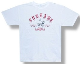 Sublime-I Love My Dog-Distressed LBC  Crest-White T-shirt - $19.99