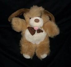 "9"" Vintage 1989 Ganzbros Heritage Brown Baby Puppy Dog Stuffed Animal Plush Toy - $22.21"