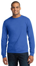 Port Company USA100LS All-American Long T-Shirt - Royal - $12.06+