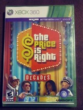 The Price is Right: Decades (Microsoft Xbox 360 2011) Rated E 10+ Game S... - $24.99