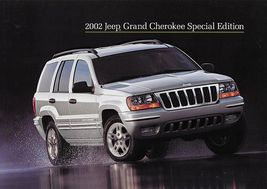 2002 Jeep GRAND CHEROKEE SPECIAL EDITION sales brochure sheet US 02 - $8.00
