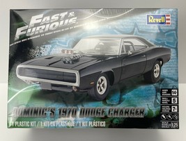 Revell 1/25 Dom's 1970 Dodge Charger Fast & Furious Model Kit  # 4319 - $28.99