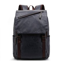 Vintage Leather School Backpack for Teen Girls School Bag Casual Backpack for Wo - $37.99