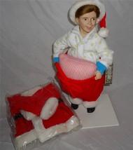 Norman Rockwell Ashton Drake Doll Scotty Plays Santa - $29.99
