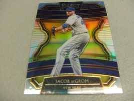 2020 Panini Select JACOB DeGROM Silver Holo PRIZM Refractor #92 -New York Mets- - $3.12