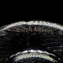 1 (One) RALPH LAUREN HERRINGBONE Lead Crystal Highball Glass-Signed image 3