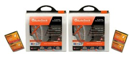 AutoSock HD AL84 (2) Snow Sock Set W/ 2 Free 2-Packs of Hot-Hands Hand W... - $455.38