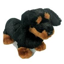 Ganz Webkinz Black Brown Dachschund Dog Plush Stuffed Animal HM345 No Co... - $13.26