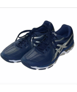 Asics Gel Netburner Ballistic Low Women's Sz 10 Navy Blue Volleyball B557Y  - $34.99