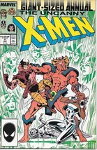 The Uncanny X-Men Annual! Comic Book #11 Marvel 1987 VERY FINE UNREAD - $2.99