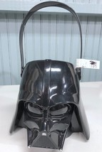 Star Wars Darth Vader Black Plastic Halloween Trick Or Treat Bucket - $11.91