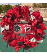 Nfl Atlanta Falcons Deco Mesh Wreath - Falcons Wreath - Falcons Decor - ... - $68.00