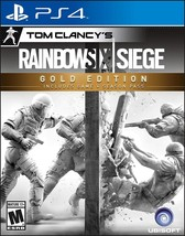 Tom Clancy's Rainbow Siege Six (PS4, Gold Edition) - Ships within 12 hou... - $44.99