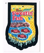 2005 Topps Wacky Packages Series 2 Sweatin Fish Trading Card 21 ANS2 - $5.99