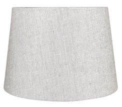Urbanest French Drum Metallic Fabric Lamp Shade, Metallic Gray, 10-inch by 12-in - $34.64