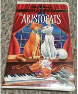 The Aristocats Walt Disney Gold Collection Clamshell VHS tape movie - $2.48