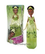Year 2015 Disney Royal Shimmer The Princess and the Frog 12 Inch Doll TIANA - $34.99