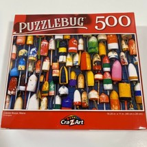 Lobster  Buoys, Maine, 500 Pieces Puzzle, New, 18.25 X 11 in, 46 cm X 28 cm - $12.15