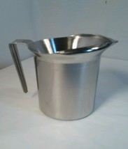 D-line Dietary Products Insulated Stainless Steel Creamer Pitcher EUC USA - $23.33
