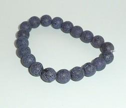 Czech Glass Round Beads 8mm Druk Amber w/ Picasso Purple Wash & Etched F... - $4.89