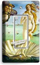BIRTH OF VENUS SANDRO BOTTICELLI LIGHT SWITCH 1 GFCI PLATES HOME ROOM AR... - $10.99