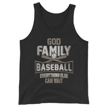 God Family Baseball Everything Else Can Wait Unisex Jersey Tank Top - $22.27+