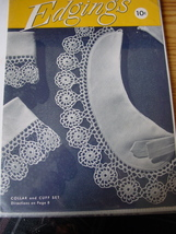 Craft booklet Edgings #254 (Crochet) - $3.99