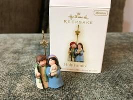 Hallmark Keepsake Ornament Miniature Holy Family 2009 - $16.83
