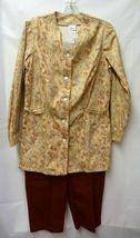 Fern Tan Jacket Cinnamon Scrub Pants Bottoms XS Scrub Set New image 6