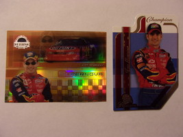 TWO Jeff Gordon Cards 2003 Press Pass Eclipse Refractor & Premium Die Cut NM  - $1.50