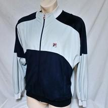 VTG Fila Velour Track Jacket Suit 80s Coat Running 90s Hip Hop Bjorn Bor... - $59.99
