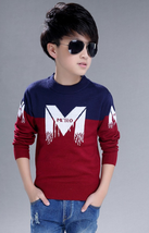 2019 Children's sweater Winter New Cotton Clothing Hedging Round collar ... - $34.00