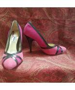 NEW STEVE MADDEN pink suede pumps 6 w/3 3/4  (TGRD7C9G) - $74.23