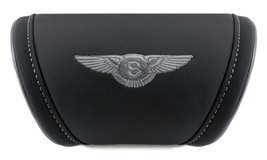 Bentley Cushion Car Travel Pillow Embroidery Logo Headrest Neck Support ... - $35.00