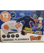 Legends Flashback Blast!, Space Invaders, Retro Gaming, Blue (LOC 404CR-2) - $14.95