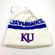 New Unisex Adidas NCAA Kansas Jayhawks Coach Knit Cap Beanie Hat OSFM (D... - $28.49