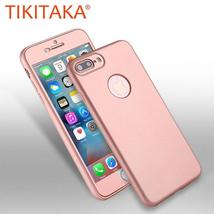 iphone 7 6 6s Plus Coque Luxury Front PC+ Soft TPU Silicon Rubber Back C... - $43.51 CAD+