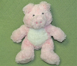 "2012 TOYS R US PINK PIG STUFFED ANIMAL WHITE TUMMY SOFT PLUSH 12"" PIGGY ... - $28.71"