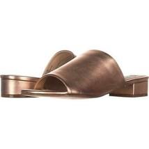 Steve Madden Briele Flat Sandals 686, Rose Gold, 7.5 US - $30.71