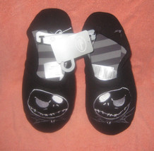Nightmare Before Xmas Jack Skellington Plush Slippers Size M M 7/8. Bran... - $19.79