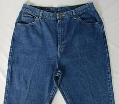 Riders Denim 16 M Womens Straight Denim Dark Blue Jeans Medium Wash - $29.69