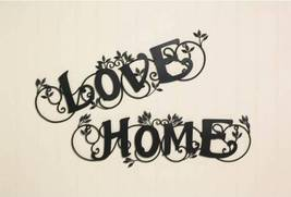 10017914 SHIPS FREE Accent Plus Black Scrolled Love Wall Plaque - $22.98