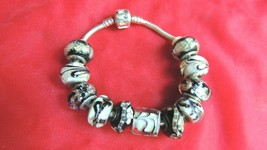 Authentic Sterling Silver Pandora Beads Charm Bracelet - $300.00