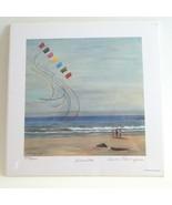 Art Print Summer Kites Numbered Carol Thompson Oregon Coast - $34.00