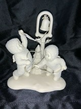 Department 56 Snowbabies Ring The Bells It's Christmas Figurine - $35.00