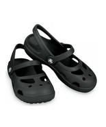 Shayna Girls Black - Crocs C9, C10 & C11 - $9.10